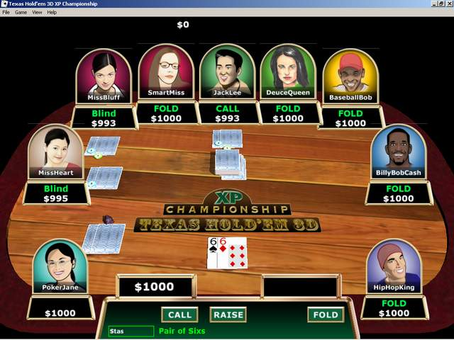 Poker PC Game for Marucia